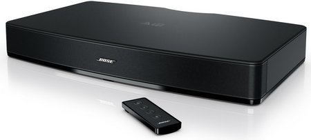 TV Audio System Wide Ranging Audio In Black With Remote