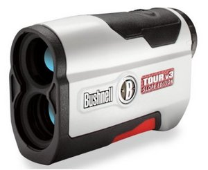 Bushnell 2013 V3 Laser Golf Range Finder In Black And Brushed Chrome