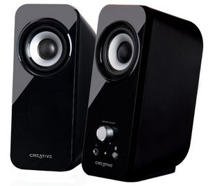 Built-In BassFlex Laptop Speakers In All Black Finish