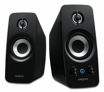 Bluetooth A2DP Wireless Speakers in Blacl