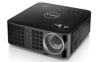 LED Projector In All Black Exterior