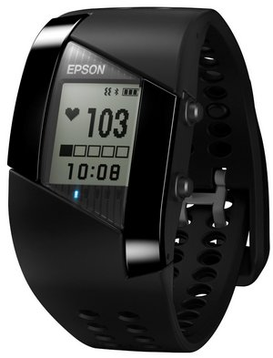 Fitness And Sleep Monitor In All Black Strap