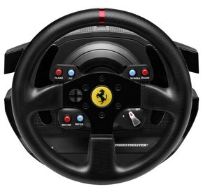 Steering Wheel In All Black With Horse Logo