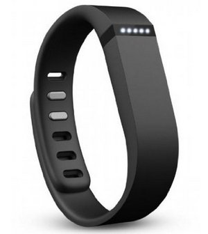 Wristband In Black Waterproof Style