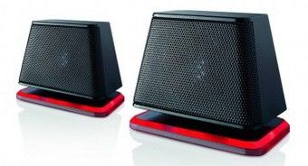 Air Spring USB Speakers in Black