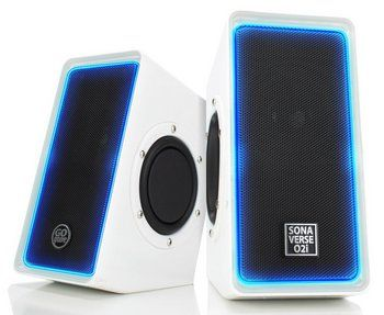 PC Stereo Speakers in White