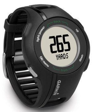 Golf GPS Sports Watch With Black Plastic Band