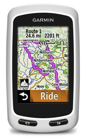 Bike GPS Cycle Computer In Black And White