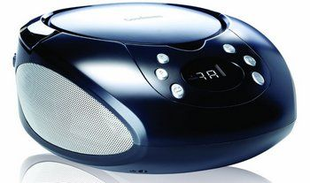Goodmans GPS01 FM Radio CD Music Player in Blue