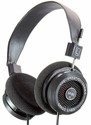 Grado SR80e Prestige Open Style Headphone With Black Headband