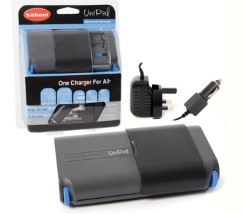 Ni-MH Universal Charger Cameras In Black And Blue