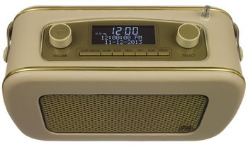 Fast Scan Cream DAB Radio With Clear Display Screen