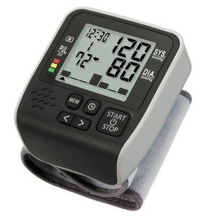 Wrist Monitor In Black And Grey