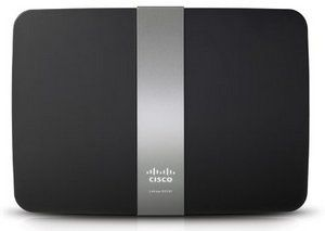 WLAN N450 Dual-Band 2.4 And 5 GHz Router In Grey And Black Finish