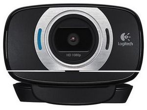 HD Webcam in Black