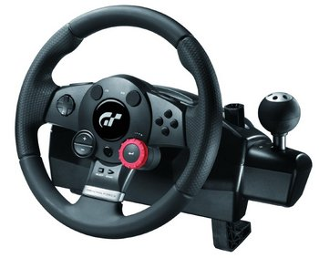 Sequential Stick Shift Wheel In All Black Finish