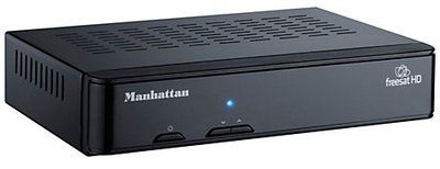 Manhattan Receiver in Black