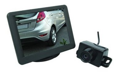 Reversing Camera With Car On Screen