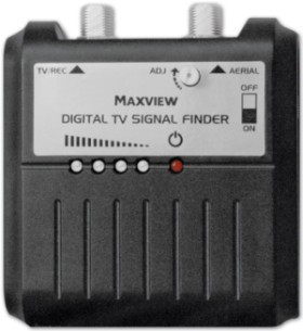 Digital Terrestrial Signal Finder In Black Finish