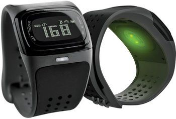 Heart Rate Monitor Watch Under Strap View