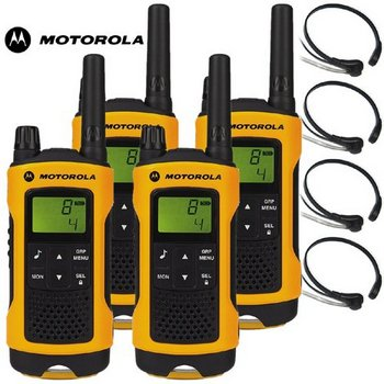 Extreme 2-Way Radios With Head-Sets