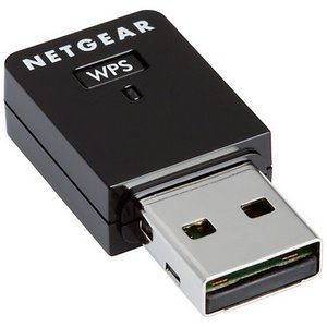 Dual-Band Fast USB Adapter in Black