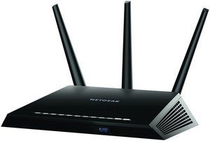 Dual Band Wi-Fi Router In Black Finish