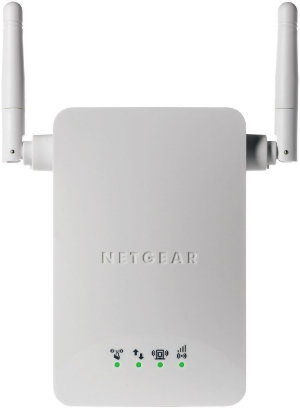White Netgear WN3000RP Wireless Range Extender