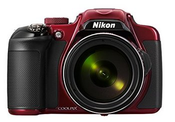 Nikon COOLPIX P600 Wi-Fi Digital Camera In Black And Brown Exterior