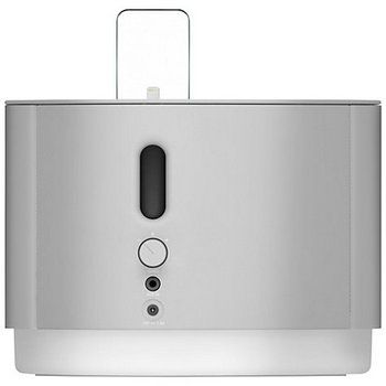 NudeAudio Studio 5 Bluetooth iPod Dock in Smooth Silver Colour