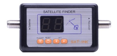 Satellite Finder Meter With Blue Front