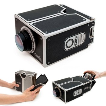 iPhone Compatible Cardboard Projector Front View