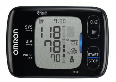 Blood Pressure Monitor In Black