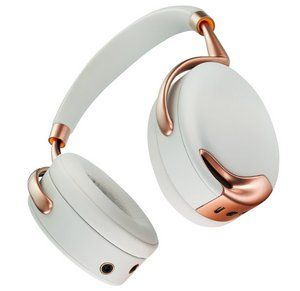 Wireless 4 Microphones Audio Headphones in All White
