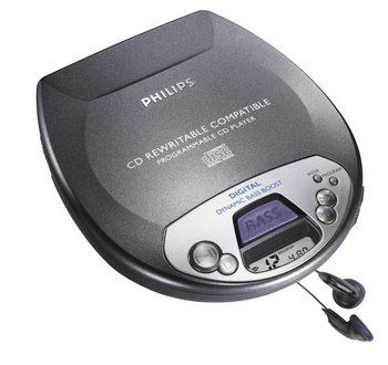 Philips AX1100 Bass Boost CD Player