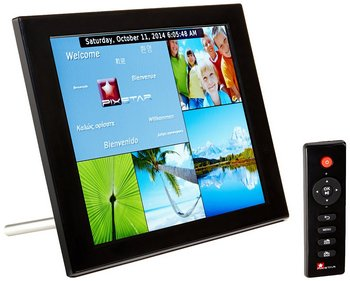 Photo Frame With Black Remote Control