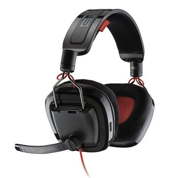 Gaming Headset With Black Microphone