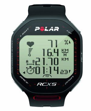 Watch In Black With Polar Logo