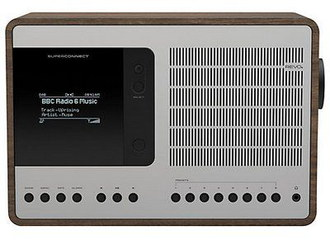 DAB Plus Net DLNA Radio With Wooden Finish