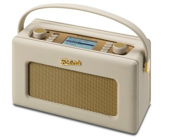 WiFi DAB+ Radio In Cream With 2 Dial Controls