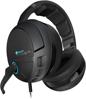 Wireless Bluetooth Gaming Headset In All Black Exterior