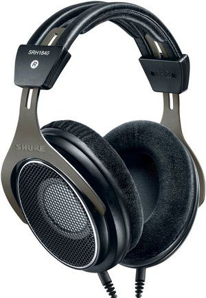 Headphones In Silver And Black Exterior