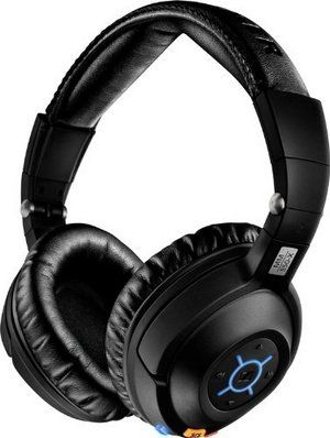 Bluetooth Headphones in Black Finish