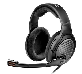 Headset In Black And Grey Finish