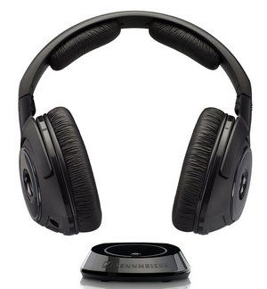 Over-Ear Headphones in Black