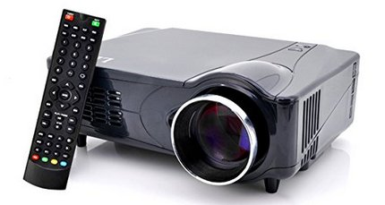 Sourcingbay LED Home Media Projector With Remote Control