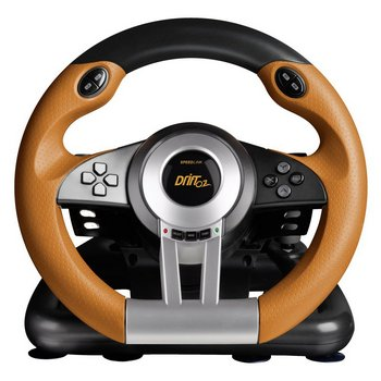 Rapid Access Shifter Paddles Racing Wheel In Black, Brown And Chrome