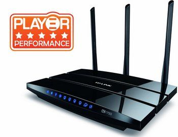 Dual-Band AC1750 2.4GHz, 5GHz Wireless Router In Black With Player Performance Rating