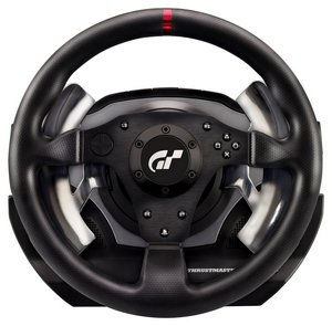 Gaming Steering Wheel In Black Easy Grip Covering