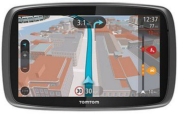 TomTom GO 6000 (Always Connected) GPS Sat Nav Device Street View